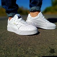 Фирменные мужские кроссовки белого цвета белые мужские кроссовки с перфорацией мужские кроссовки Puma