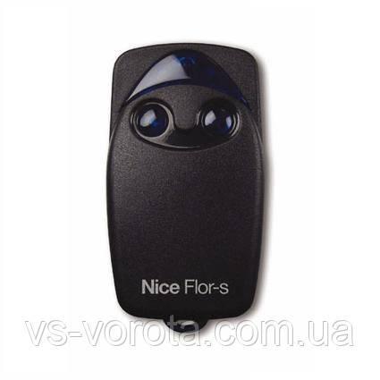 Nice Flor-S двухканальный пульт дистанционного управления воротами