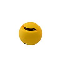 Портативная Bluetooth  Колонка - Шар mp3 Mini-165  Желтая Размер: 66*66*66 см