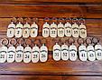 Брелоки для гостиниц с логотипом и номером Деревянные Брелки для отеля, офисов, санатория из дерева, фото 5