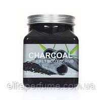 Скраб для тіла Sherbet Body Scrub Charcoat Деревне вугілля 350 мл