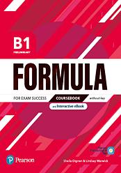 Formula B1 Preliminary Coursebook + eBook + key + App