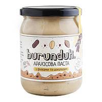 """Арахисовая паста """"с финиками и шоколадом"""" Burunduk, 250 г"""