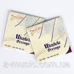 Струны для укулеле Deviser PA-U30 (комплект) (022 028 032 022)