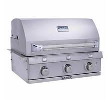 Встраиваемый газовый гриль для барбекю блюд из нержавеющей стали SABER SS 500 BI R50SB0412