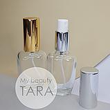 Флакон стеклянный для духов Дил 30 мл с металлическим спреем (цвета в ассортименте), фото 4