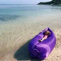 Пляжный надувной шезлонг, воздушный гамак Lamzac, надувной мешок для кемпинга, надувной диван