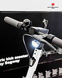 Оригінальний самокат Audi Electric Kick Scooter 89A050001 з двигуном Segway 350 Вт, дальність дії 65 км, фото 8