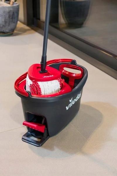 Набір для прибирання швабра+відро Vileda Easy Wring&Clean Turbo
