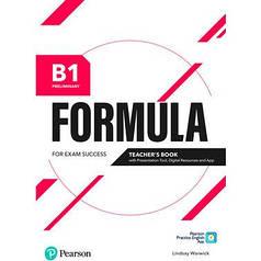 Formula B1 Preliminary Teacher's Book + eBook + Presentation Tool + App