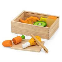 Дерев'яні продукти Viga Toys Обід (44542)