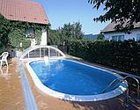 Каркасний басейн з отворами 6х3,2х1,5 м. IBIZA OVAL, фото 3