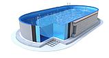 Каркасний басейн з отворами 6х3,2х1,5 м. IBIZA OVAL, фото 4