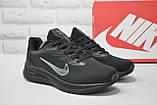 Мужские летние черные кроссовки сетка в стиле Nike Air Zoom running, фото 2