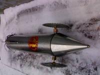 Торпеда для запуска сетей под лед