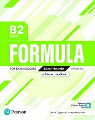 Formula B2 First Exam Trainer + eBook + key + App
