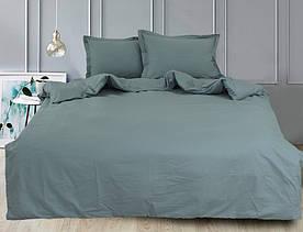 ТМ TAG Простынь на резинке (160х200х30) Green Grey