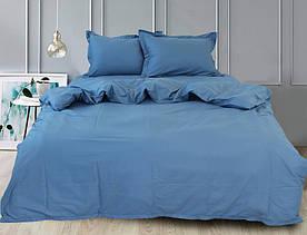 ТМ TAG Простынь на резинке (180х200х30) Blue Grey