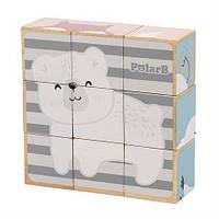 Пазл-кубики Viga Toys PolarB Звірята (44024)