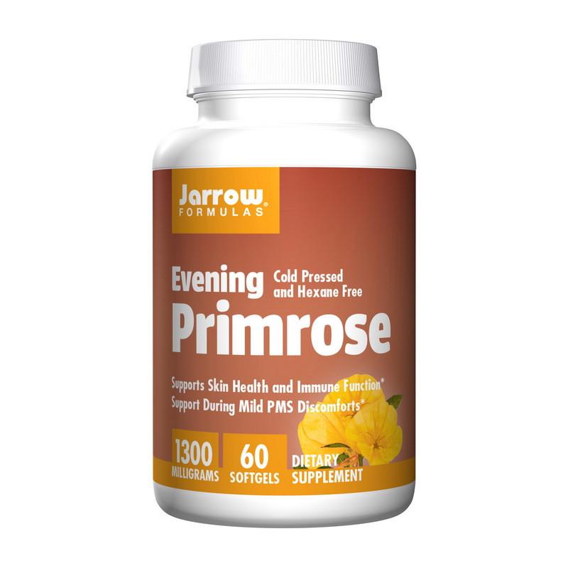 Масло Примули Вечірньої Jarrow Formulas Evening Primrose 1300 mg 60 капсул
