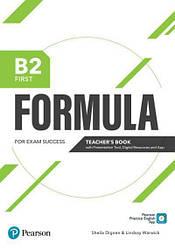 Formula B2 First Teacher's Book + eBook + Presentation Tool + App