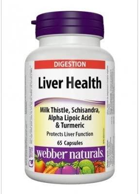 Таблетки для печени Webber Naturals Liver Health 65 капсул
