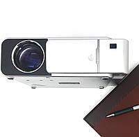 Проектор мультимедийный WI-Fi +экран Wi-light T6 Full HD проектор для домашнего кинотеатра и школы.