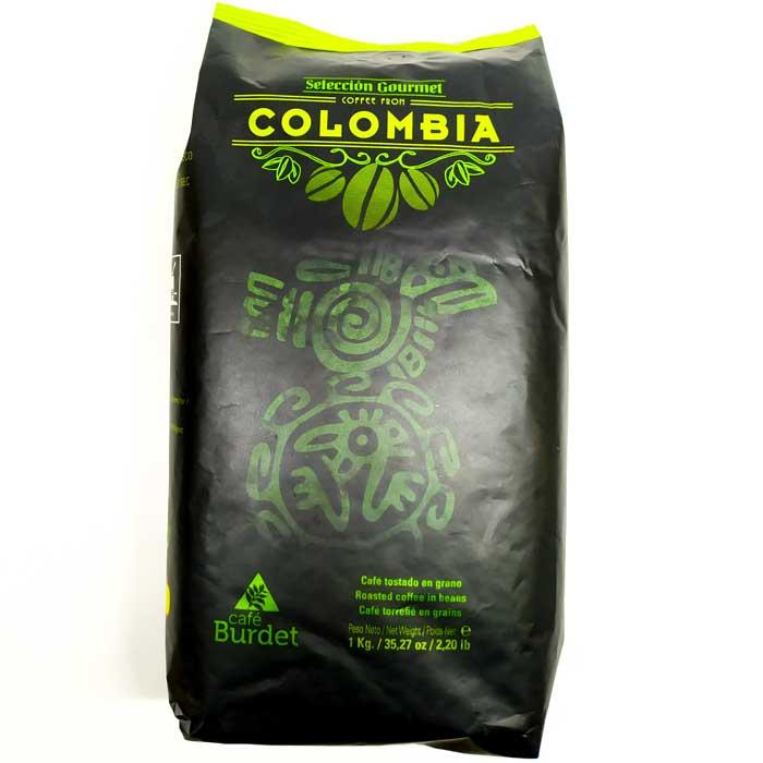Burdet Colombia кави в зернах 100% Арабіка 1 кг Іспанія