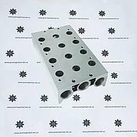 400M4FG Колектор пневматичний чотирьохсекційними