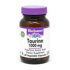 Таурин Bluebonnet Nutrition Taurine 1000 mg 50 капсул