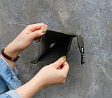 Женский мини кошелек клатч подкова под рептилию, маленький кошелечек эко кожа с подковой, фото 3