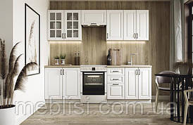 Кухня ELIZABETH 240 белый/дуб сонома Halmar