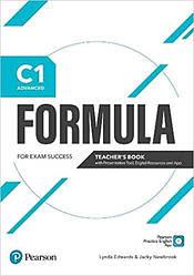 Formula C1 Advanced Teacher's Book + eBook + Presentation Tool + App