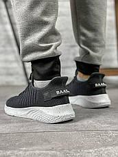 Кросівки чоловічі 10452, BaaS Ploa темно-сірі, [ 42 43 44 ] р. 42-27,0 див., фото 2