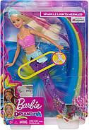 Кукла Barbie Dreamtopia Барбі Дрімтопія Мерехтлива русалочка Підводне сяйво GFL82, фото 8