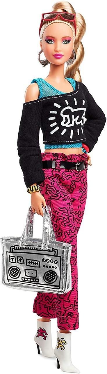 Колекційна лялька Барбі Кіт Харінг Х Barbie Signature Keith Haring X FXD87
