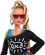 Колекційна лялька Барбі Кіт Харінг Х Barbie Signature Keith Haring X FXD87, фото 4