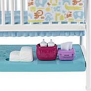 Кукла Барби Скиппер няня Уход за малышами Детская комната Barbie Nursery Skipper Babysitters Mattel GFL38, фото 4