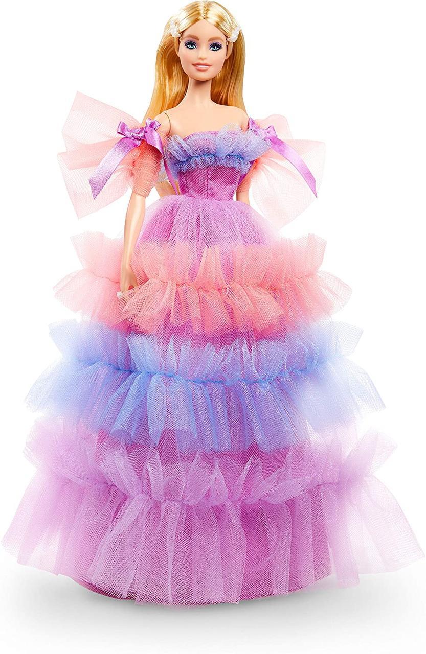 Колекційна лялька Барбі Особливий День народження 2020 Barbie Birthday Wishes Mattel GTJ85
