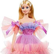Колекційна лялька Барбі Особливий День народження 2020 Barbie Birthday Wishes Mattel GTJ85, фото 5