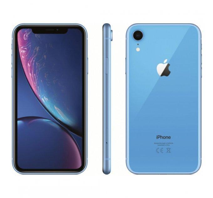 Б/У, Смартфон, Apple, iPhone XR, 64GB, Blue