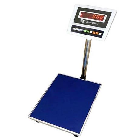 Весы товарные электронные ВПЕ-Центровес-405-150-СВ (150 кг), фото 2