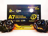 Bi-LED лінзи Aozoom А7 Pro 3.0 дюйма 50Вт 12В 5500K, фото 1