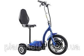 Електросамокат сидіння (сидіння - спинка) (синій) T06-1 36V350W 12AH - SM