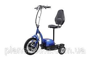 Електросамокат сидіння (сидіння - спинка) (синій) T06-2 48v500W 12AH - SM