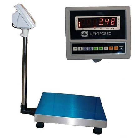 Ваги товарні електронні ВПЕ-Центровес-608-300-В (300 кг), фото 2