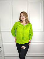 """Сорочка жіноча молодіжна, розміри 48-54 (4кол) """"FIESTA"""" купити недорого від прямого постачальника"""