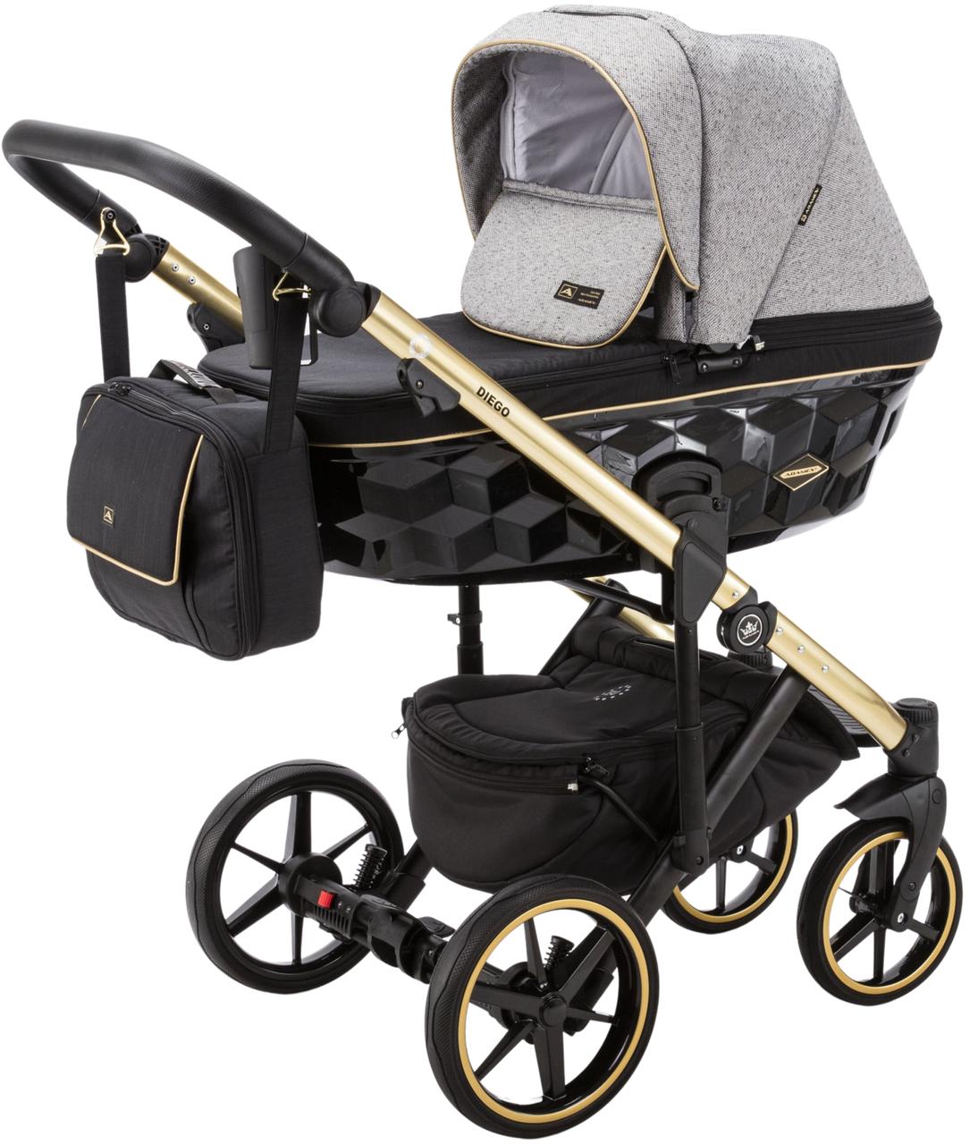 Детская универсальная коляска 2 в 1 Adamex Diego DW-500