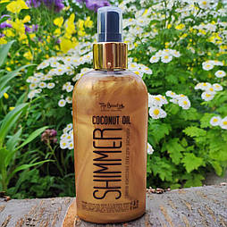 Мерехтливі кокосове масло для засмаги Top Beauty 200 мл
