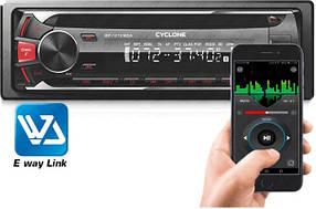Автомагнитола CYCLONE MP-1019MBAR (Bluetooth, A2 DP, микрофон,12 мес гарантия)